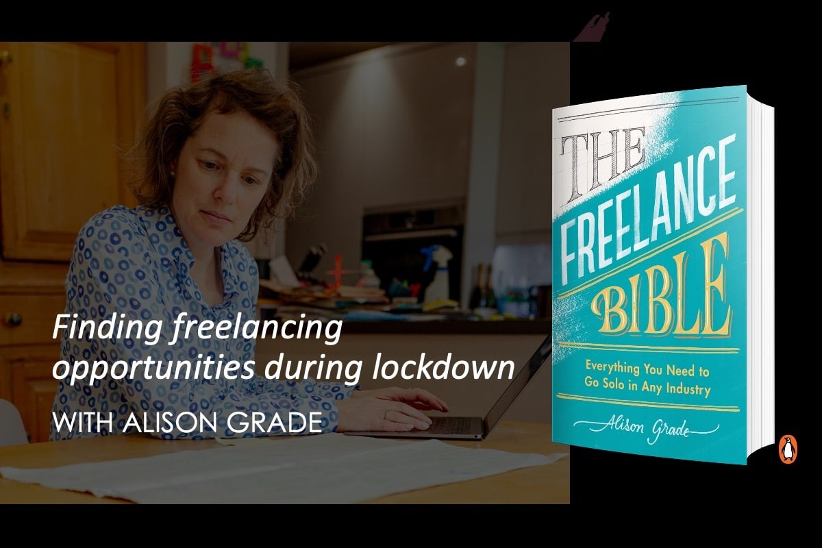 Free webinars | Finding freelancing opportunities during lockdown 2