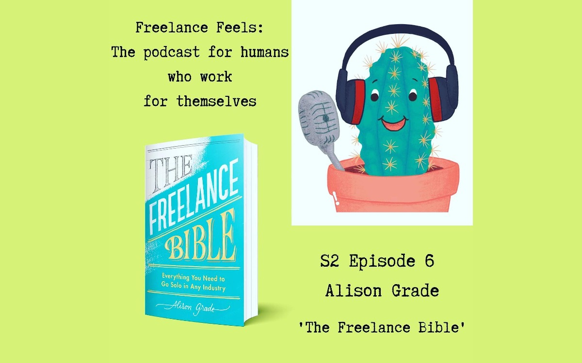 Alison joins Jenny as a guest on her Freelance Feels Podcast 3