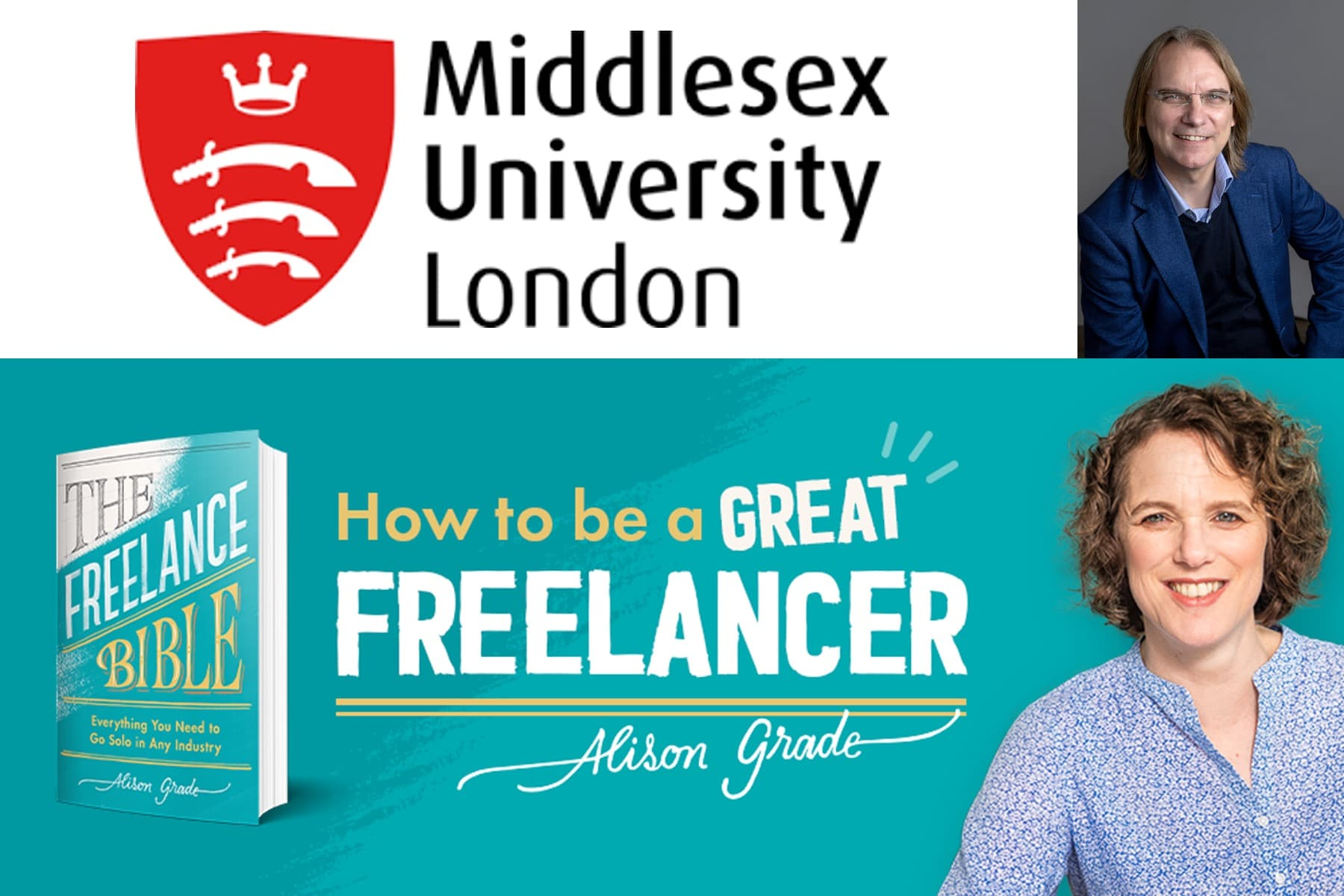 Middlesex University Freelancing Alison Grade
